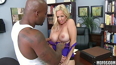 Milf gets ripped and stripped by black dick