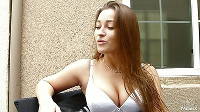 Dani Daniels sexy as hell redhead outdoors
